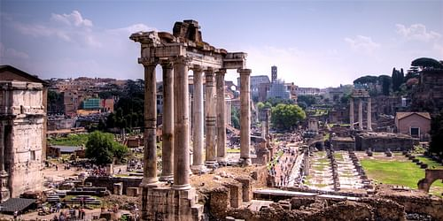 Forum Romanum (by wili_hybrid, CC BY-SA)