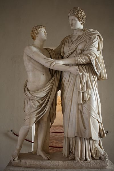 Orestes & Electra (by Mark Cartwright, CC BY-NC-SA)