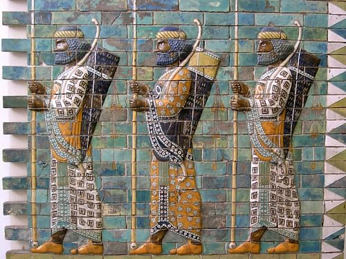 Persian Archers (by mshamma, CC BY)