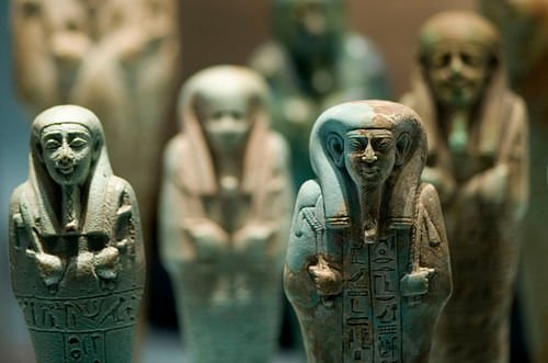 Shabti Dolls The Workforce In The Afterlife Article