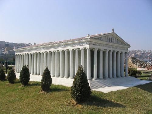 Temple of artemis at ephesus ancient history encyclopedia model of the temple of artemis by faigldislav malvernweather Gallery