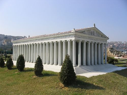 Model of the Temple of Artemis (by Faigl.ladislav, GNU FDL)
