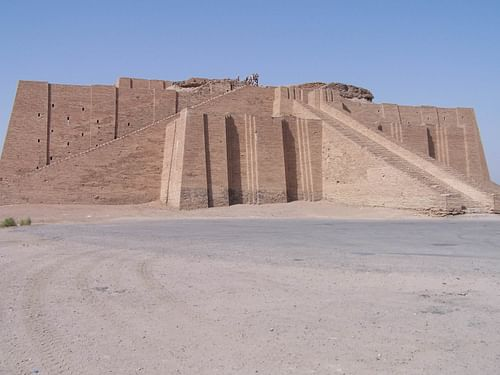 Great Ziggurat of Ur (by Hardnfast, CC BY-SA)