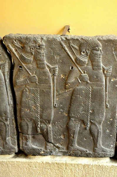 Assyrian Warriors Relief