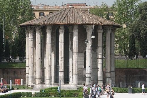 Temple Of Vesta Rome Illustration Ancient History