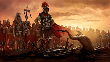 Roman Victory (by CA, Copyright)
