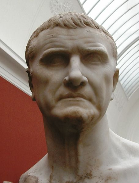 Marcus Licinius Crassus Bust (by Diagram Lajard, Public Domain)