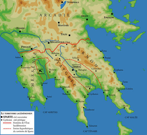 Peloponnese Ancient History Encyclopedia