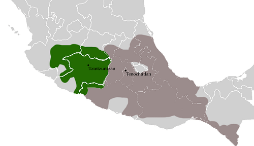 The Tarascan Empire (by Maunus, Public Domain)