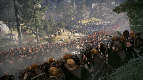 Battle of Teutoburg Forest [Artist's Impression]