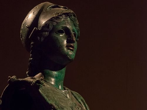 Minerva of Arezzo (by Egisto Sani (used with permission))