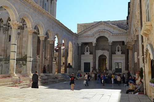 Peristyle of Diocletian's Palace