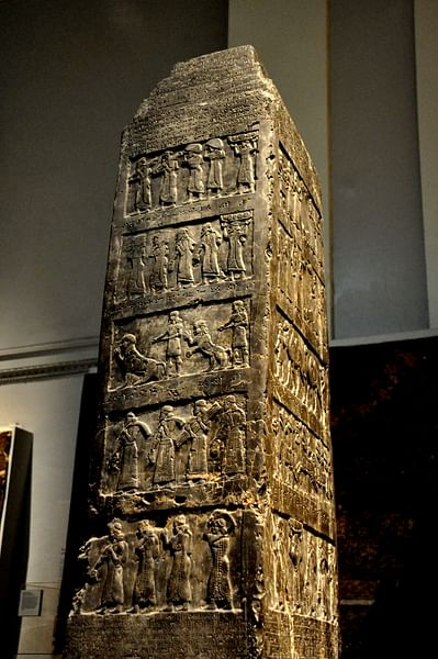 The Black Obelisk of King Shalmaneser III