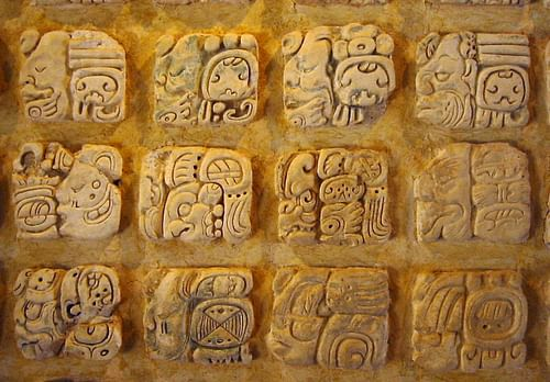 mayan glyphs dictionary