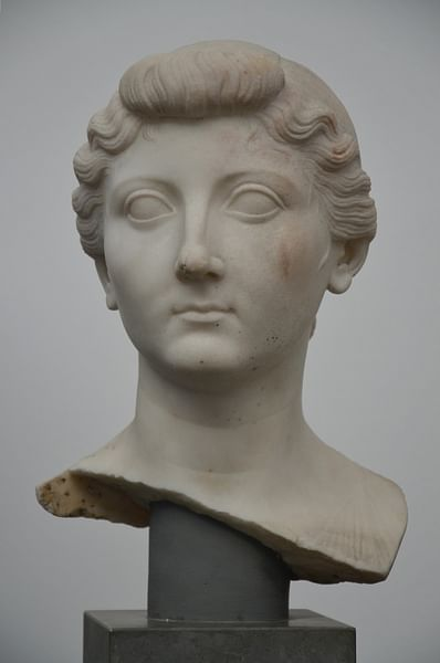 Bust of Empress Livia Drusilla (by Carole Raddato, CC BY-SA)