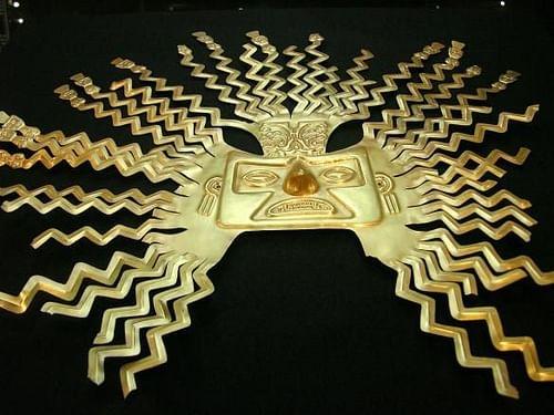 Máscara solar Inca Gold (por Andrew Howe, CC BY-NC-SA)