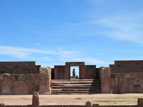 Kalasasaya Entrance, Tiwanaku (by Flickruser: mishmoshimoshi, CC BY-NC-ND)