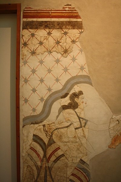 House of the Ladies Fresco, Akrotiri