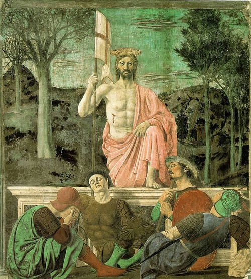 Resurrection of Christ by Piero della Francesca