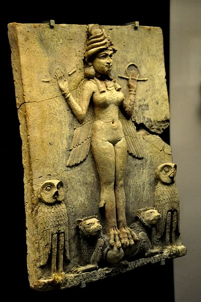 Queen of the night (or Burney's) Relief, Mesopotamia