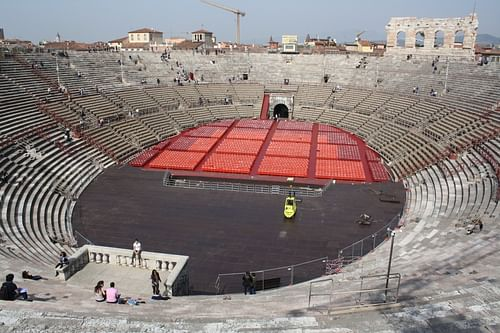 Amphitheatre of Verona (by )
