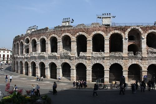 Amphitheatre Exterior, Verona (by Mark Cartwright, CC BY-NC-SA)