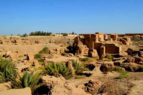 Ruins of the North Palace of Nebuchadnezzar II , Babylon