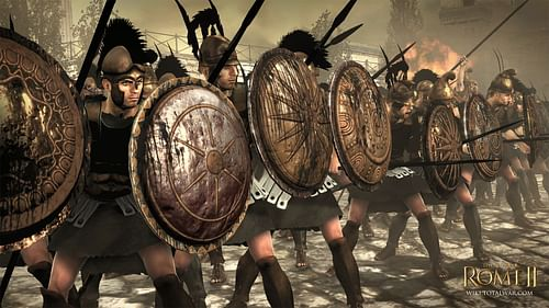 Greek Phalanx (by CA, Copyright)