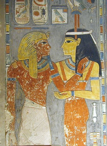 The Tomb of Horemheb (by Jean-Pierre Dalbéra, CC BY-NC-SA)