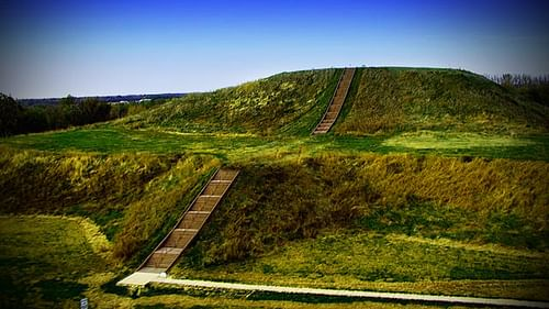 Cahokia Mounds (by The Chickasaw Nation, USA)
