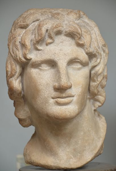 Alexander the Great, Marble Head