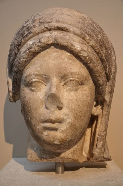 Vestal Virgin, British Museum
