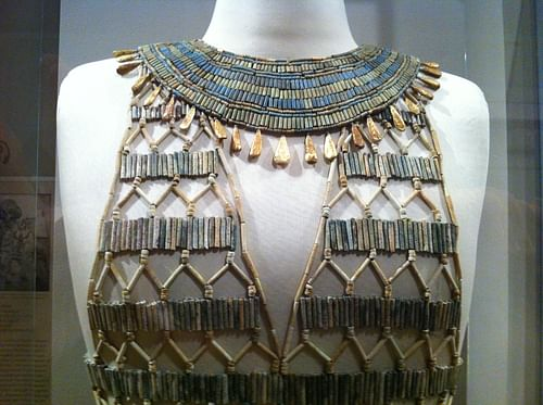 Egyptian Beadnet Dress (Detail)
