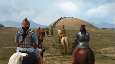 Scythian Funeral Procession (by The Creative Assembly, Copyright)