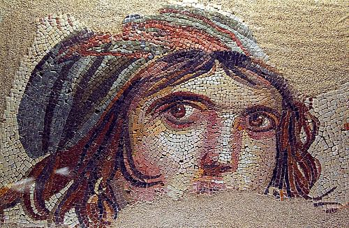 Mosaic of a Gypsy Girl
