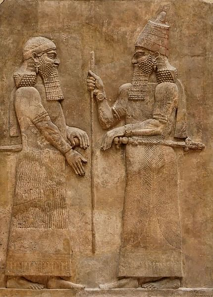 Sargon II Wall Relief (by Jastrow)