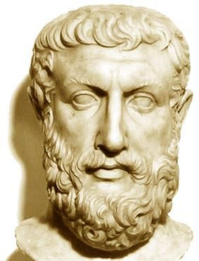 Bust of Parmenides (by BjörnF)