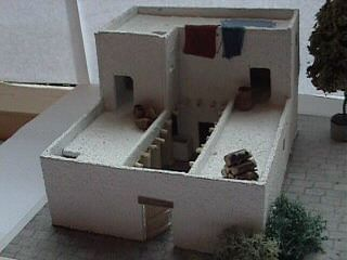Four-Room House Model (by SieBot, CC BY-SA)