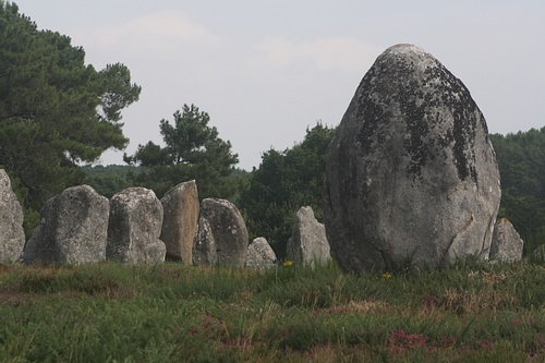 Large Menhir, Carnac Alignments