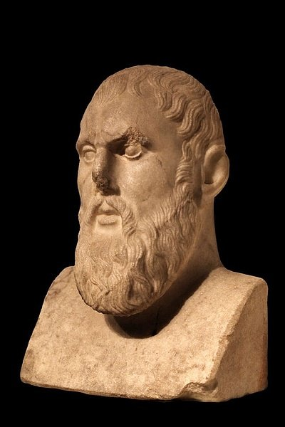 Zeno of Citium Bust