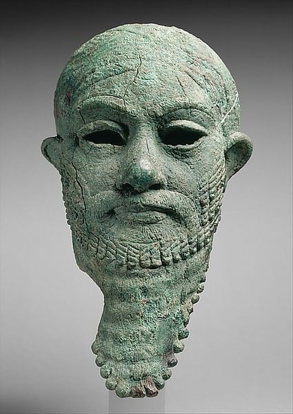 Head of a Ruler (by Metropolitan Museum of Art, Copyright)
