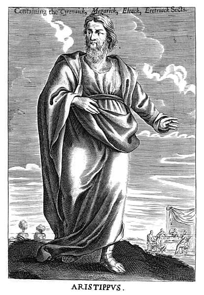 Aristippus of Cyrene (by Pasicles, Public Domain)
