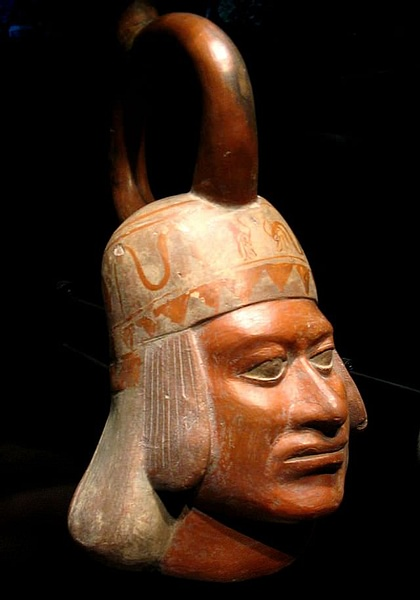 Moche Ceramic Portrait