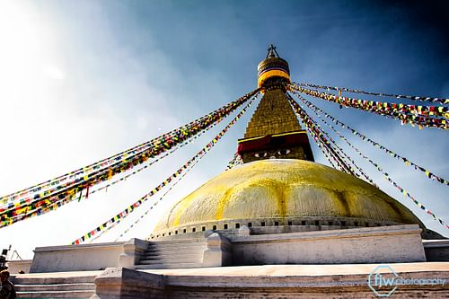 Boudhanath Stupa (by Jun Wei Fan, CC BY-NC-SA)