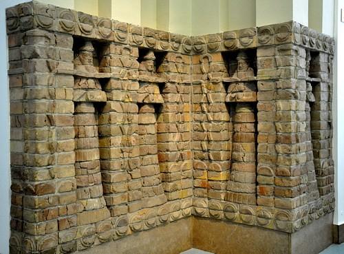 Facade of Inanna's Temple at Uruk