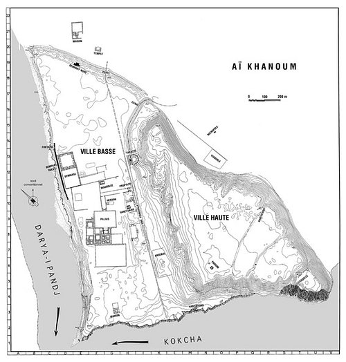 Plan of Ai Khanum