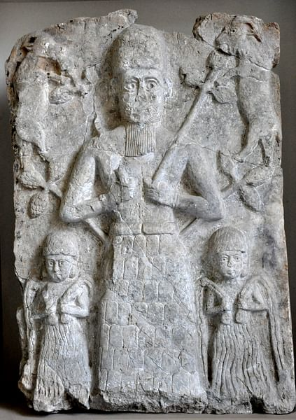 A Cult Relief from Ashur (by Osama Shukir Muhammed Amin, CC BY-NC-SA)