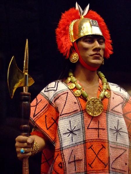 Inca gobernante Atahualpa