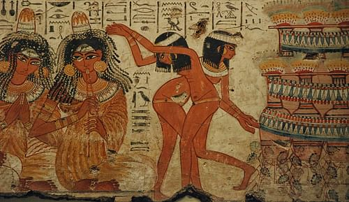 Ancient Egyptian Music and Dancing