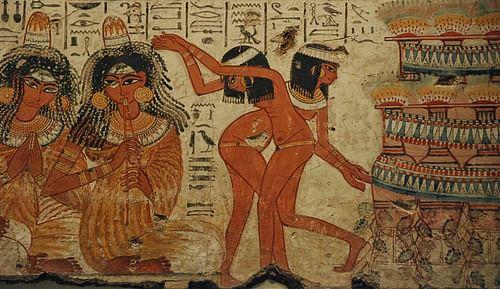 الموسيقى والرقص المصري القديم